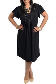 S.H.E. Emma Dress in Black - Beyond the Rack
