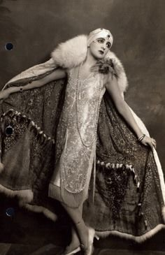 Harry S. Franklyn, female impersonator from the 1920s and '30s.
