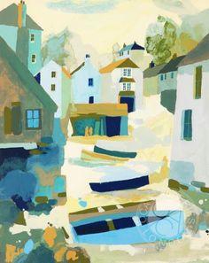 Cadgwith Boats Richard Tuff