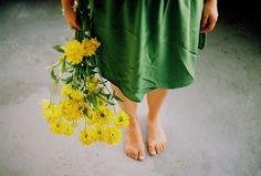 anna gawlak   flores. verde e amarelo #beauté