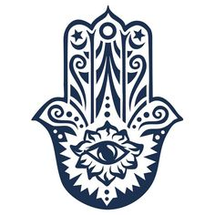 Hamsa - Hand of Fatima, protection amulet, symbol of strength and happiness