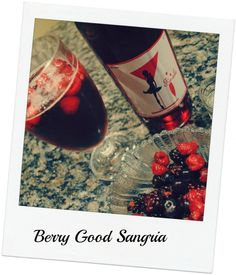 Berry Good Sangria |  Create a simple and delicious berry sangria using our recipe.