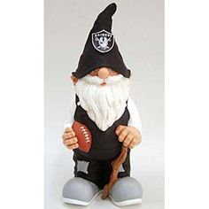 Forever Collectibles Oakland Raiders NFL 11 Garden Gnome by Forever Collectibles. nfl. Oakland Raiders. Forever Collectibles.