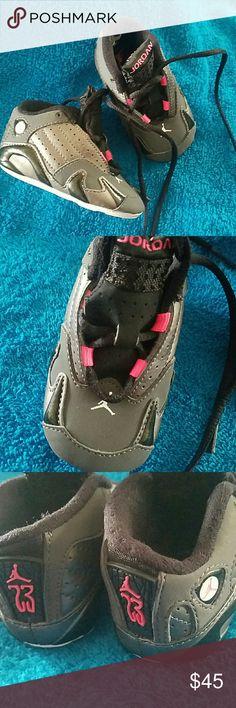 Infant Jordans Retro 14 Like new!  3c Jordan Shoes Baby & Walker