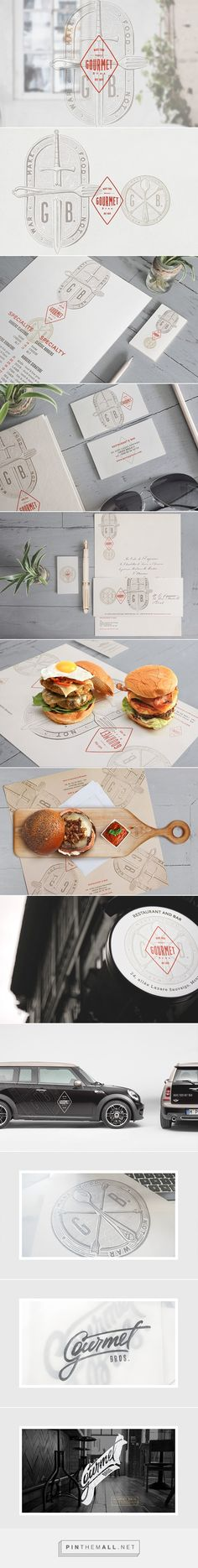 Gourmet Bros. on Behance - created via https://pinthemall.net