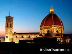 Florence vacation beautiful night time