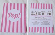 Maybe we can use their popcorn machine and make PINK candy Covered Pop corn gift bags for all the guests..?