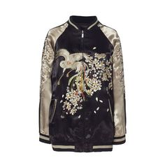 OMG! This is sssoooo gorgeous!! EMBROIDERED BOMBER JACKET - Blazers - Woman | ZARA United Kingdom