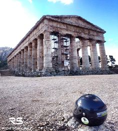 The Temple of Segesta! #motorcycle #tour #italy
