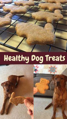 Dog Cookie Recipes, Easy Dog Treat Recipes, Homemade Dog Cookies, Dog Biscuit Recipes, Homemade Dog Food, Dog Food Recipes, Pumpkin Dog Treats Homemade, Snack Recipes, Puppy Treats