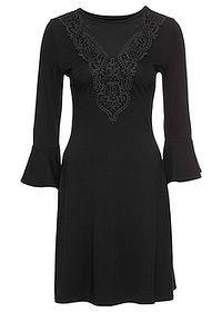 Džersejové šaty s čipkou Džersejové • 27.99 € • bonprix  829ccf3d0aa
