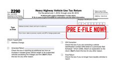 2290 form for 2019  15 Best Prefile 15 Truck Tax images in 15