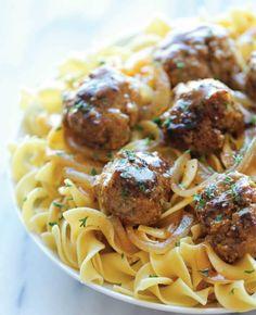 Whip up Salisbury Steak Meatballs for dinner.
