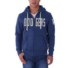 47 MLB Los Angeles Dodgers Men s Cross Check Full-Zip Pullover Jacket  Medium ( 64609499d