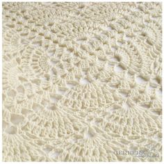 FOR SALE: Crochet Pattern Baby Blanket, Tutorial Crochet PDF Creame Baby Afghan Ebook - free shipping