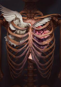 Arte surrealista Brownie sheila g brownie brittle costco Art And Illustration, Psychedelic Art, Arte Obscura, Arte Horror, Anatomy Art, Surreal Art, Skull Art, Oeuvre D'art, Graphic