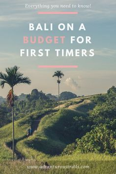 The Ultimate Guide To Bali, Indonesia Budget Guide. Travel in Asia.