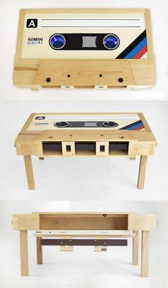 Bring A Unique Touch To Your Music Room With Music Wall Art - Life ideas Diy Furniture Table, Furniture Projects, Home Projects, Cool Furniture, Furniture Design, Etagere Design, Music Wall Art, Game Room Design, Game Room Decor