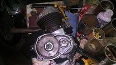 armado de embrague de motor sachs 100/2 que equipaba la moto argentina broadway