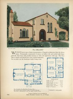 More Art Deco House Plans | Art Deco Resource | diarama ideas ...