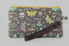 Breaking Bad Heisenberg Wristlet Wallet by RedShirtCreations, $14.95