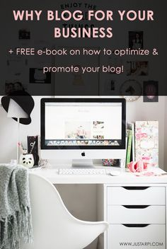 Why Blog For Your Business  Great tips from  arpisylvester Pinterest