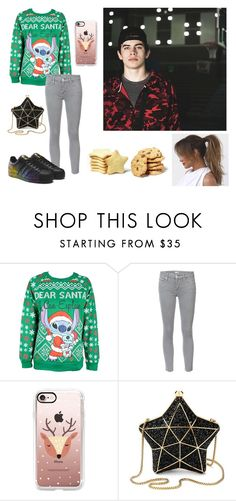 """""""Hayes Grier"""" by sorrynoturbabe ❤ liked on Polyvore featuring Disney, Mother, Champion, Casetify and Aspinal of London"""