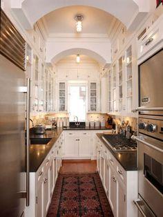 Small Galley Kitchen Layout small 8 x 10 kitchen designs |  small galley kitchen work