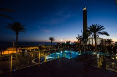 IFA Faro sea views at night