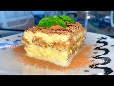 Cea mai iubită prăjitură fără coacere – Tiramisu, reţeta pe care o veţi găti mereu!!! |Danutax - YouTube Mai, Tiramisu, Deserts, Ice Cream, Drink, Ethnic Recipes, Youtube, Sweets, No Churn Ice Cream