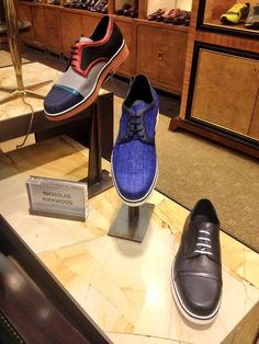 A step in the right direction, Nicholas Kirkwood hits the Shoe Library. 212 339 3335