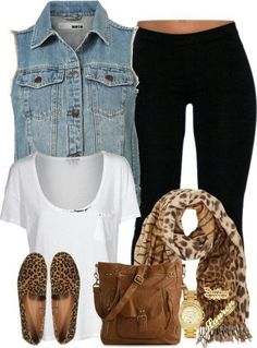 Casual outfit but with different shoes