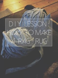 15 ways to upcycle old tees, including making a durable rag rug. Craft Projects, Sewing Projects, Craft Ideas, Sewing Tutorials, Diy Ideas, Fabric Scissors, Idee Diy, Textiles, Old T Shirts