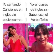 Yo con mi inglés raro 😂😂😂 Funny Spanish Memes, Spanish Humor, Cute Memes, Stupid Funny Memes, Hilarious, Pinterest Memes, New Memes, Fifth Harmony, Really Funny