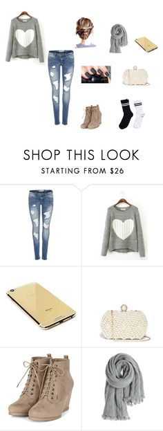 """""""Untitled #5"""" by anacristinabustos on Polyvore featuring Goldgenie, GUESS, Calypso St. Barth and Pieces"""