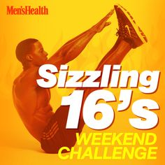 Your core will burn! Put your abdominal muscles to the test with this 3-move challenge. http://www.menshealth.com/fitness/attack-your-abs-sizzling-16?cid=soc_pinterest_content-fitness_sept14_sizzling16s