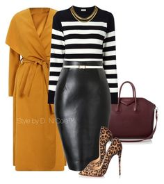 Untitled #3014 by stylebydnicole on Polyvore featuring polyvore fashion style Yves Saint Laurent Christian Louboutin Givenchy Dorothy Perkins