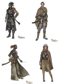 Characters by Brian Matyas