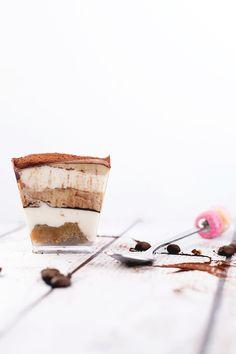 Vegan Tiramisu - Kahlua and Coffee Soaked Sponge, Vegan Vanilla and Coffee Mascarpone. #vegan #tiramisu #veganrecipes #dessert #foodporn #delicious #food