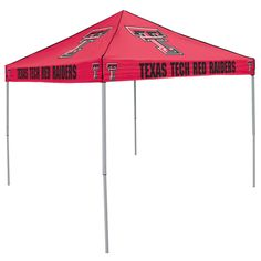 NCAA Texas Tech Red Raiders Colored Tent