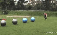 Exercise Ball Stunt. Not Sure If Cool - Imgur
