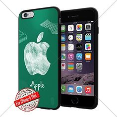 Apple iphone Logo iPhone 6 Plus 5.5 inch Case Protection Black Rubber Cover Protector ILHAN http://www.amazon.com/dp/B01A9UOCG8/ref=cm_sw_r_pi_dp_9hfNwb0M08YFG