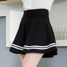 Lovely students skirts SE8212 – SANRENSE Navy Skirt, Pleated Skirt, Dress Skirt, College Fashion, College Style, Pretty Outfits, Pretty Clothes, Fabric Material, Cheer Skirts