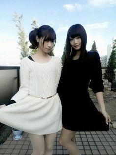 乃木坂46 (nogizaka46)  Fukagawa Mai [深川 麻衣]  Nishino Nanase (西野 七瀬)  ~ two hot model XD ♥ ♥ ♥ ♥ ♥ ♥