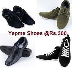 Pepperfry is Offering FLAT 40% OFF Coupons. You can avail this Coupon & Get these Get Branded Yepme Men's Shoes at just Rs.300 ONLY    http://crazyoffers.in/super-saver-offer-get-branded-yepme-mens-shoes-at-just-rs-300-only/
