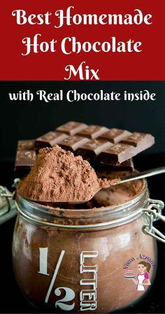 Chocolate Slim, Chocolate Bomb, Hot Chocolate Bars, Frozen Chocolate, Chocolate Making, Chocolate Chips, Best Hot Chocolate Recipes, Cocoa Recipes, Delicious Chocolate