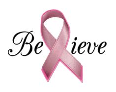 Pink Ribbon: Believe in the cure. Join Cupcakes by Carousel and fight against breast cancer.