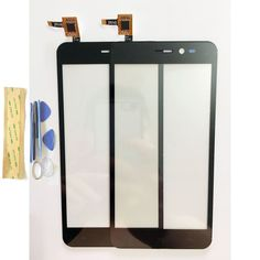 Touch Screen Digitizer Black Glass Lens Panel Sensor For Explay Pulsar Touchscreen Touchpad Replacement+Tools