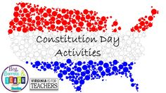 Constitution Day activities that can be done in Language Arts and Social Studies…