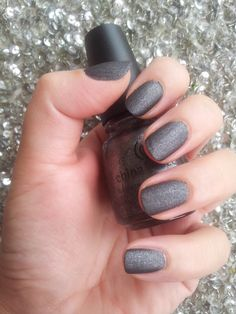 China Glaze: Stone Cold China Glaze, Mani Pedi, Nail Polish, Nail Art, Cold, Stone, Nails, My Style, Makeup